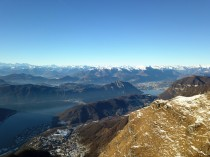 Landscape with LUGANO and MELIDE
